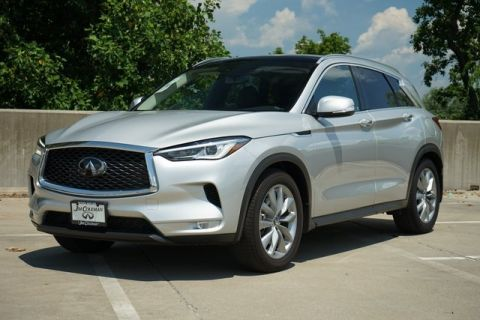 New 2019 INFINITI QX50 LUXE AWD 4D Sport Utility
