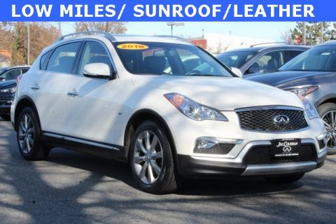 Certified Pre-Owned 2016 INFINITI QX50 Base AWD 4D Sport Utility